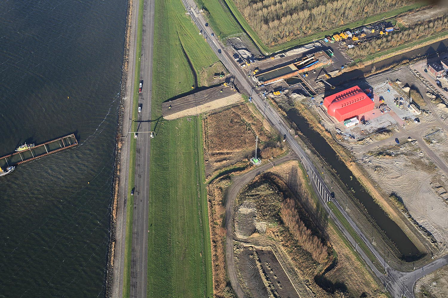 WOS Almere luchtfoto